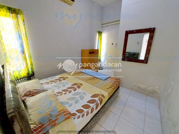 Tampilan Kamar Family Guest House Pangandaran<br /> Di lengkapi dengan AC dan bed ukuran 160x200