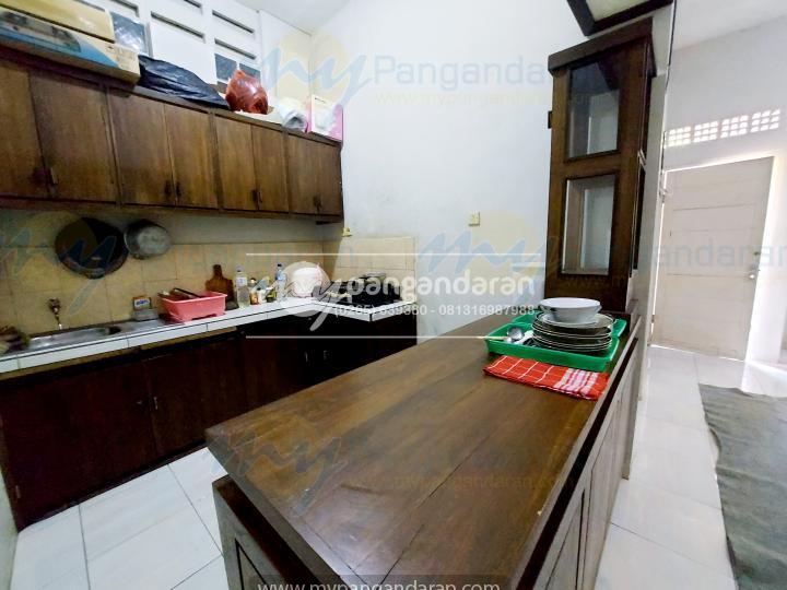 Tampilan Dapur Siap pakai Family Guest House Pangandaran